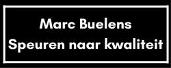 Marc Buelens, speuren naar kwaliteit